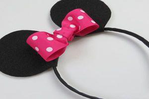 Lembrancinha da Minnie – Orelhas Divertidas