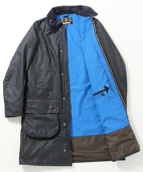 BEAMS PLUS(ビームス プラス) - 【予約】Barbour×BEAMS PLUS / 別注 Border Hooded Jacket(その他アウター)|ビームス公式通販[BEAMS Online Shop]