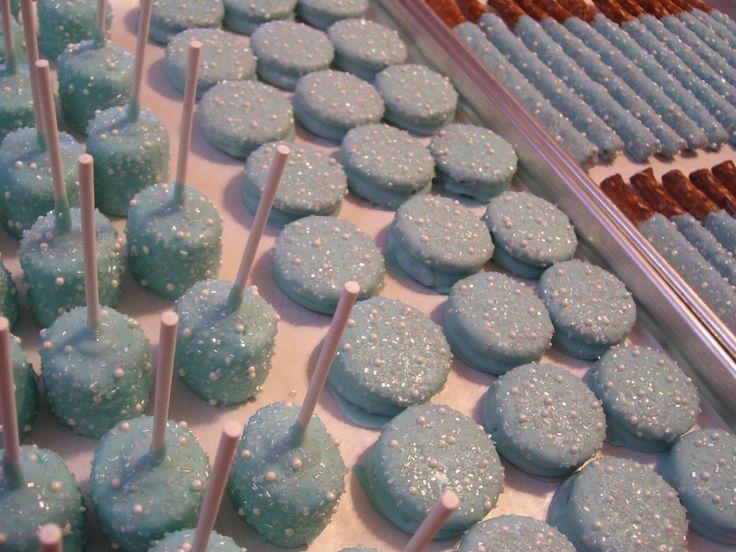 Beautiful Dipped Oreos For Baby Shower Part - 10: Best 25+ White Chocolate Covered Oreos Ideas On Pinterest   Cake Pop Recipe  Xmas, Oreo Cake Balls And Oreo Ball