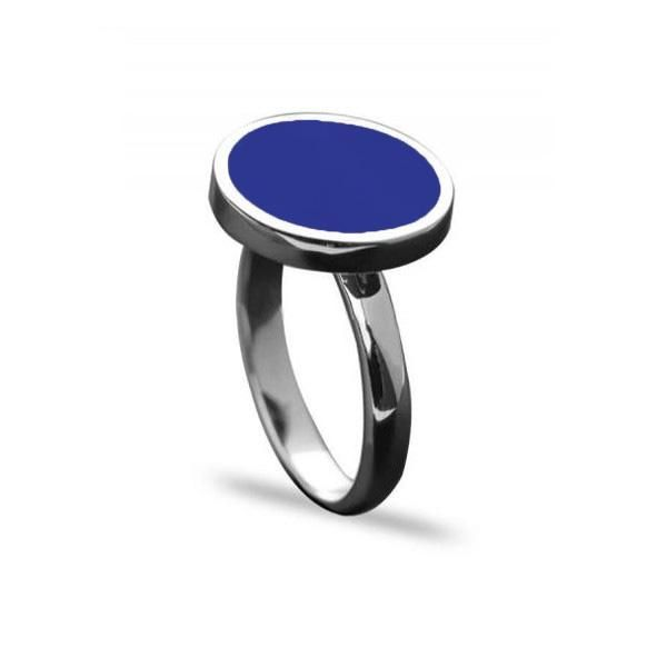 خاتم فضة ملكي ازرق عيار 925 Gemstone Rings Gemstones Rings