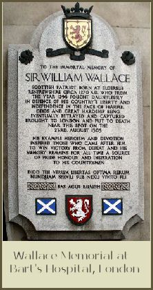 Sir William Wallace memorial - London