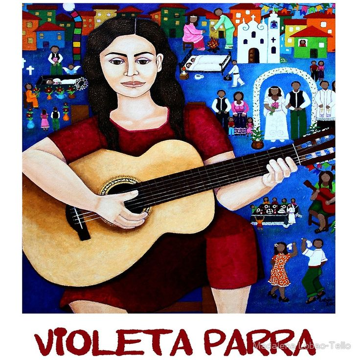 "Violeta Parra  and the song ""Black wedding"""