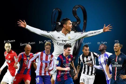 Clasificados a cuartos de final de la Champions 2014-2015 | Amor fútbol ! ! !