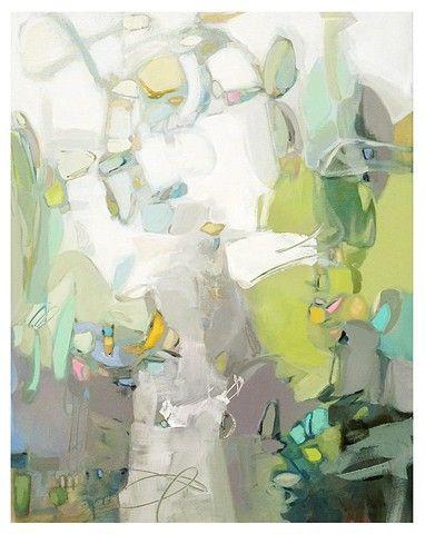 "Christina Baker abstract - ""Princess Daydreams"" Gregg Irby Fine Art - Atlanta"