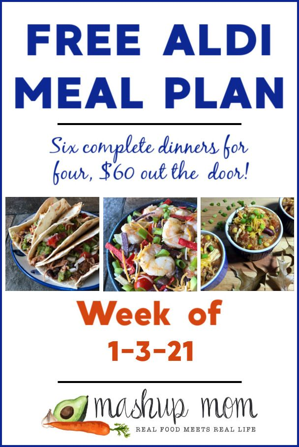 Free Aldi Meal Plan Week Of 1 3 21 1 9 21 Aldi Meal Plan Meal Planning Cheap Meal Plans