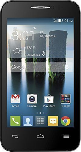 Factory Sealed T-Mobile Alcatel One Touch Evolve 3G No-Contract Prepaid Phone Bk #Alcatel