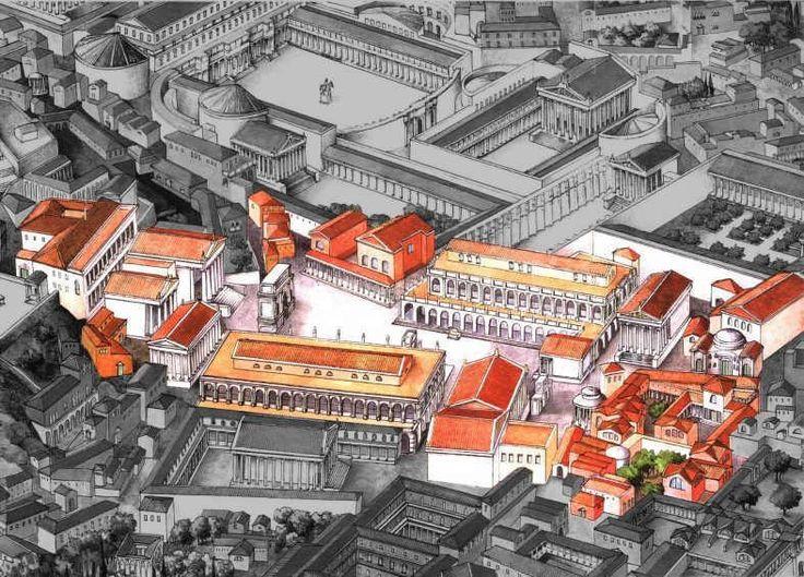 reconstruction of the forum romanum - this public space ...