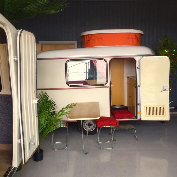 Overnatting campingvogn Mykenbnb