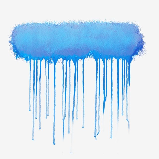 Blue Rectangle Watercolor Drop Blue Rectangle Watercolor Png