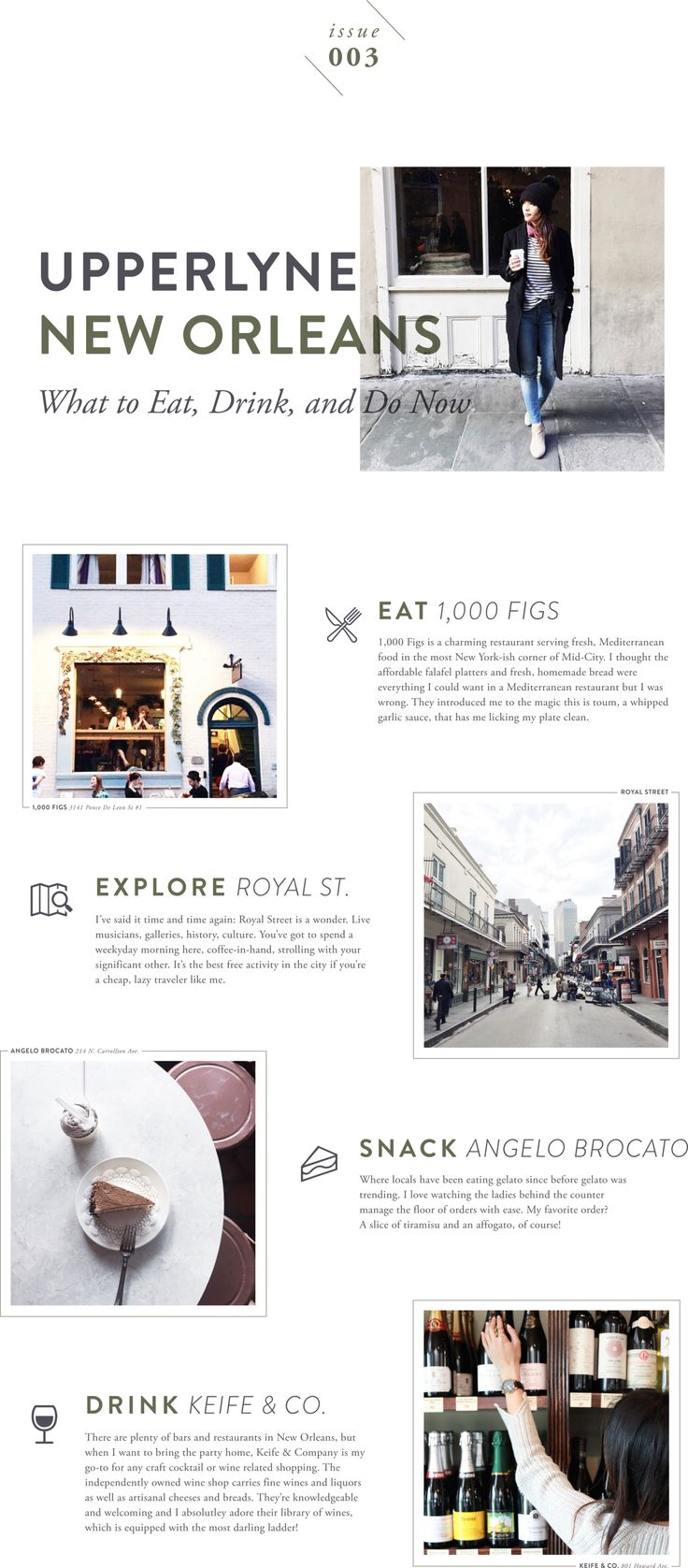 What to Eat, Drink, & Do in New Orleans (Issue 003)