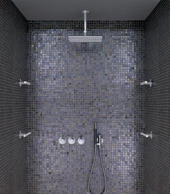 Vola makes beautiful plumbing fixtures.    #bath, #bathroom, #shower