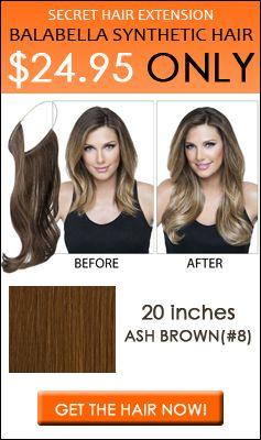 Secret Hair Extensions Online | Balabella Hair