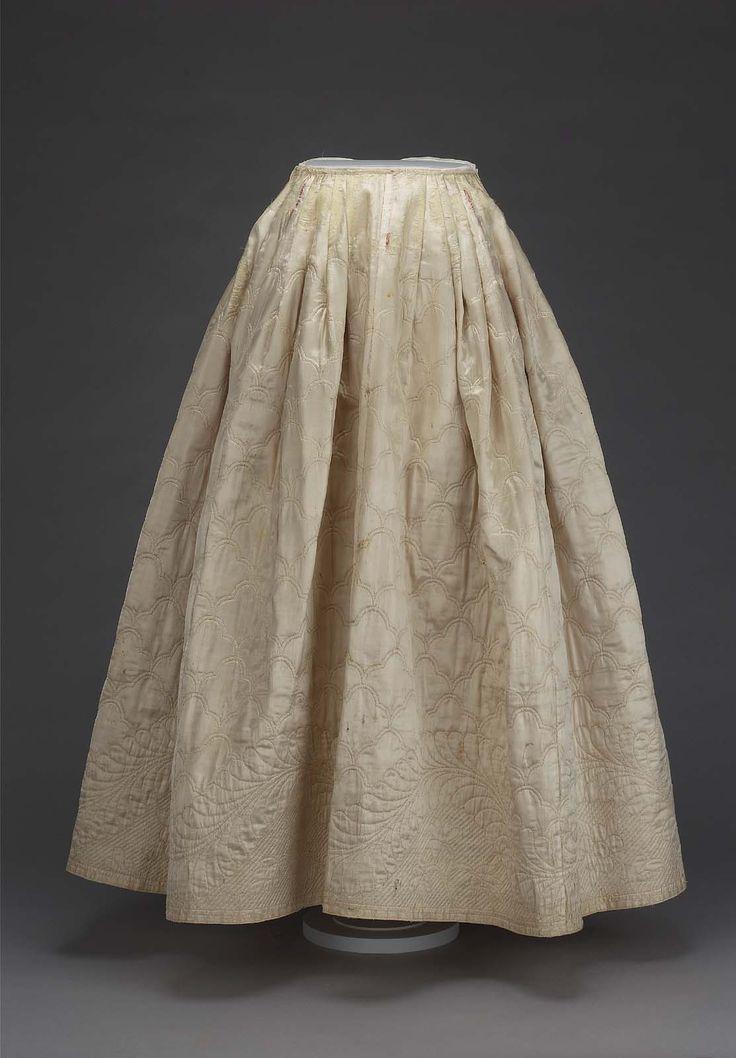222 best 18th century petticoat images on Pinterest