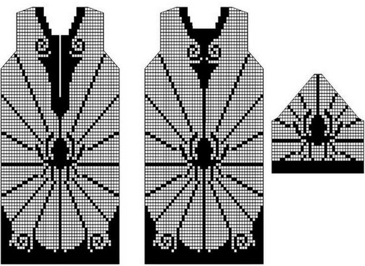 17 Best Images About Filet Crochet Charts On Pinterest