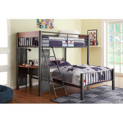 Woodbridge Home Designs Division Twin Over Full Loft Bed   Reviews   Wayfair. Best 25  Cool loft beds ideas on Pinterest   Cool bunk beds  Loft