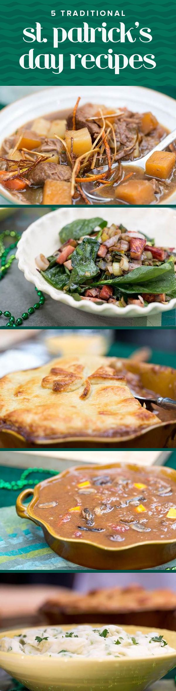 Beef-and-stout pie and more St. Patrick's Day recipes you should try | ST. PATRICK'S DAY | Pinterest | Irish Recipes, Recipes and Food