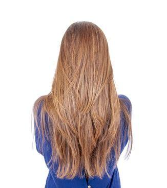 Step cut for long straight hair #frisuren #frisur…