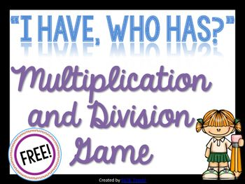 This non-competitive game is great for mixed single and double-digit multiplication and division practice. Students work in a small group and have the collaborative mission of arriving back at the beginning! *Great for ELL's