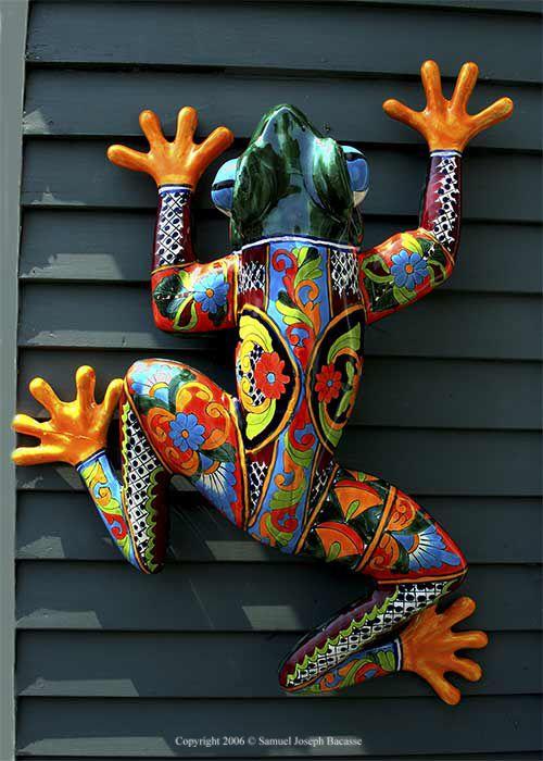 Me Da Recuerdos De Ojuelos Ceramic Mexican Art