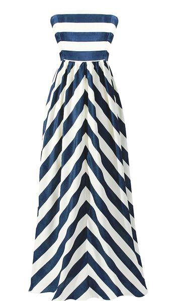 Cabana Stripe Maxi Dress, Ya los angeles stripe maxi dress