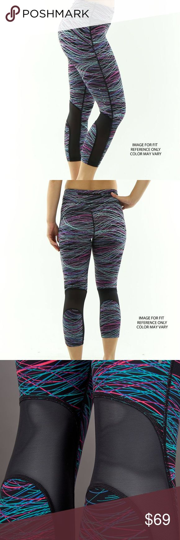 Nike Epic Lux Running Cropped Pants w/Mesh Panels NWT Nike running tights with mesh paneling and lightweight fabric - ideal for running, lifting or yoga. Nike Pants Leggings