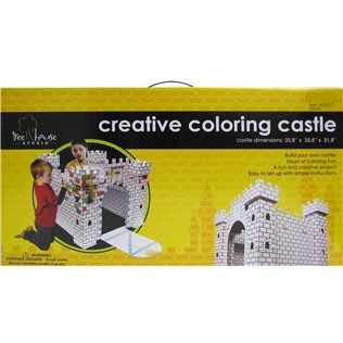 With This Kit You Can Build Your Own X Castle And Then Decorate It Paints Markers Other Embellishments