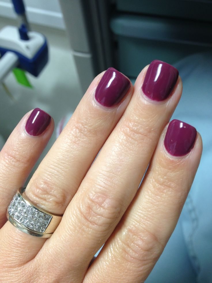 25+ Best Ideas About Fall Gel Nails On Pinterest