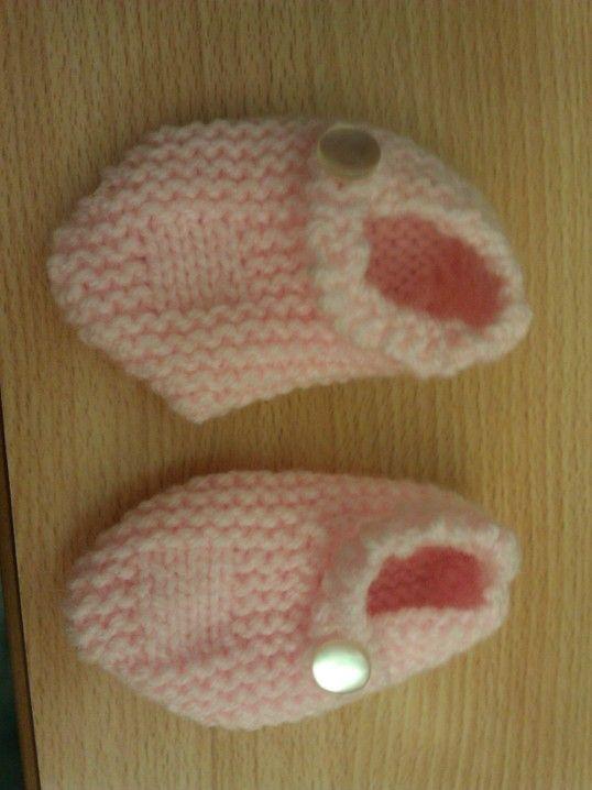 Booties for newborn Phoebe