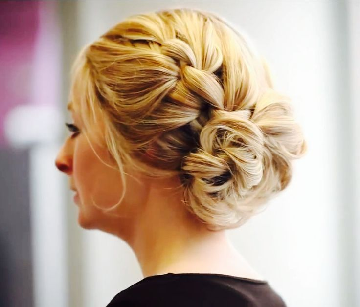 10 Best 10 Updos With Knots Images On Pinterest Hair Dos Up Dos