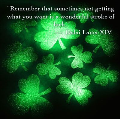 Luck of the Irish quotes