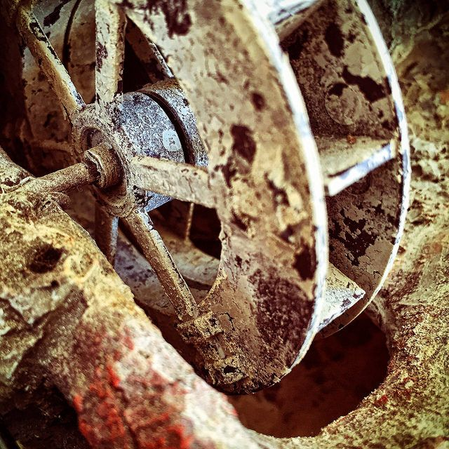 #watermill #stone #wheel #iPhone | by Tryfon Tobias Pliatsikouris