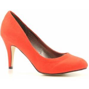 Oranje-hoge-hakken-pumps, omdat oranje sjiek kan zijn! Op www.shopwiki.nl #oranje