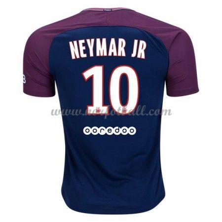 Billige Fotballdrakter Paris Saint Germain Psg 2017-18 Neymar Jr 10 Hjemmedrakt Kortermet