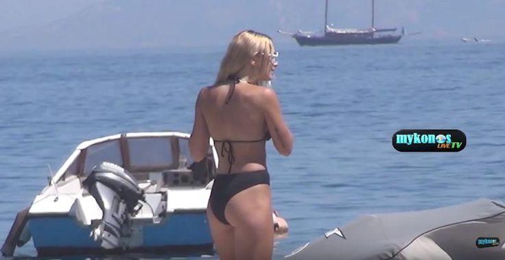 Η Ζοζεφίν δαμάζει τα κύματα και σου φεύγει το... σαγόνι (video)