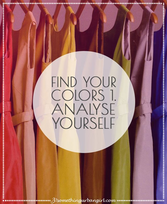 126 best Color Analysis How to Find Your Colors and Style ...