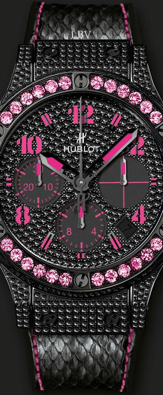 Hublot Black Fluo Pink | LBV ♥✤