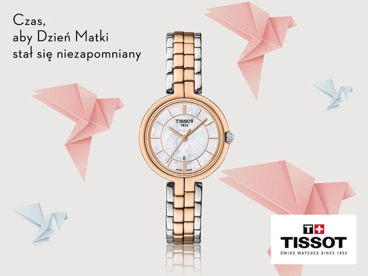 Dzień Matki już niedługo, My proponujemy jako prezent pięknego i stylowego Tissota FlamingoTISSOT T094.210.22.111.00. Polecamy :)