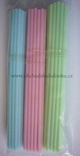 Tyčinky na cake pops (lízátka) pastelové barvy 3 druhy