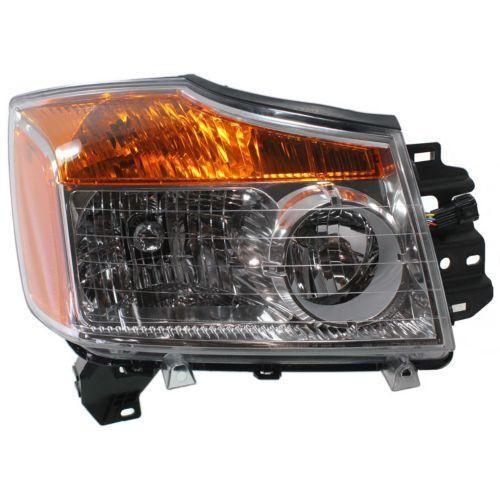 2008-2015 Nissan Titan Head Light RH, Assembly - Capa
