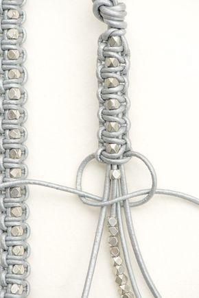 leather bracelet tutorial, Anleitung für ein Lederarmband