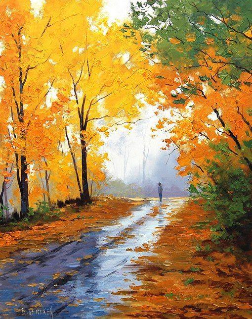 HEINRICH HEINE: BÚCSÚ  A sárga lomb megreszket, levél hull, jön a dér. - Ó, minden, ami kedves, elmúlik, sírba tér.  Az erdőbe a napnak ernyedt sugara vesz. Tán a búcsúzó nyárnak utolsó csókja ez...  Sírni, zokogni tudnék, érzem - valami tép. Most, hogy bucsút kell vennünk, felújul ez a kép:  el kell hagyjalak téged, s tudom: meghalsz te már! Te vagy a haló erdő, én a bucsúzó nyár.  (Fordította: Dsida Jenő)