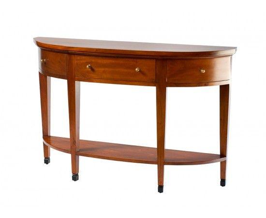 Semicircular Hall Table - Hall Tables & Consoles - Xavier Furniture - Hamptons Style, Modern Elegance, Caribbean