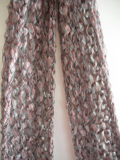17 Best Images About Ladder Ribbon Scarves On Crochet