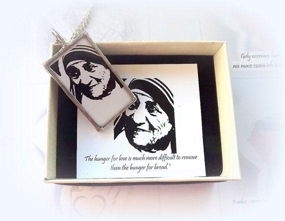 Saint Teresa of Calcutta. Mother Teresa Catholic by AcoyaJewellery