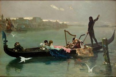 Wilhelm Kotarbiński, Wenecka Serenada, 1881 r.