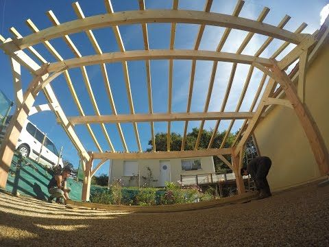 Montage d'un carport - version longue - YouTube