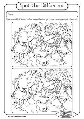 Rozdíly mezi obrázky - 10