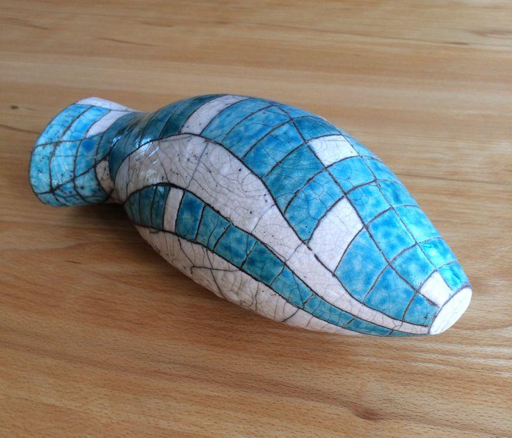 VIS | RAKU  Anja van den Berg | keramiek