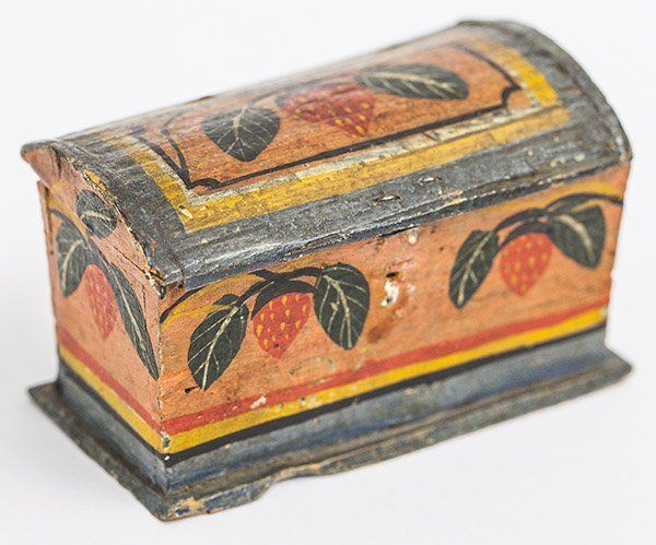 Lot:Lehnware Trinket Box, Lot Number:55, Starting Bid:$100, Auctioneer:Main Auction Galleries, Auction:Lehnware Trinket Box, Date:05:00 AM PT - Feb 28th, 2016