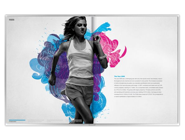 PUMA annual report  by: Erwin Hines
